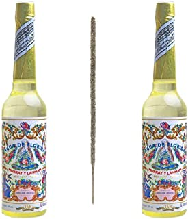 Pack 2 Agua de Florida PERÚ La Original de la Marca Murray & Lamnan + 1 ud. Incienso de Autor Copal México