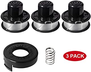 Yabey Weed Eater Spools Compatible with Black and Decker RS-136 ST4500 ST1000 ST4000 GE600 CST800 ST6800 String Trimmer Replacement Spool Line 20ft 0.065