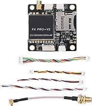 Jadpes Drone FCd Flight Controller, 30.5x30.5mm Rcharlance F4 Pro+ V2 Flight Controller ESC VTX for RC FPV Racing Drone Rc Control Board Accessory