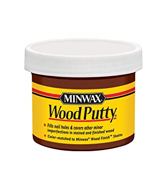 Minwax 13613000 Wood Putty, 3.75 Ounce, Mahogany
