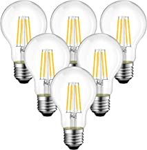 ANWIO 7.5W E27 Filament LED gloeidraad A60, 2700K warm wit, vervanging voor 75W gloeilamp, ultrahelder 1055 lm, niet dimba...