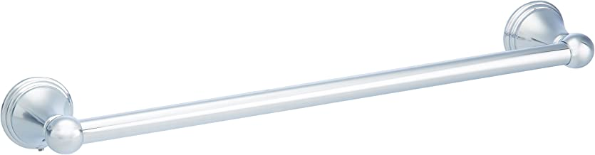 AmazonBasics AB-BR810-PC Modern Towel Bar, 18-inch, Polished Chrome