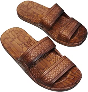Best Women Double Strap Jesus Style Hawaii Sandals, Unisex Sandal for Women Men and Teens Review