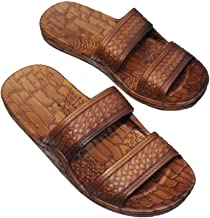 IMPERIAL SANDALS HAWAII Double Strap Jesus Style Hawaii Sandals, Unisex Sandal for Women Men and Teens