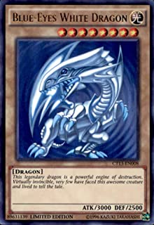 YU-GI-OH! - Blue-Eyes White Dragon (CT13-EN008) - 2016 Mega-Tins - Limited Edition - Ultra Rare