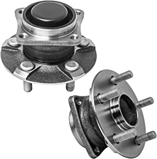 AutoShack WB610072PR Front or Rear Wheel Bearing Pair 2 Pieces Fits Driver and Passenger Side