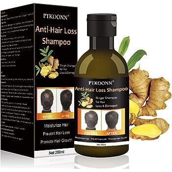 Hair Growth Shampoo,Anti-Hair Loss Shampoo,Hair Thinning Treatment,Ginger Care Shampoo Helps Stop Hair Loss, Hair Growth for Stronger, Thicker, Longer Hair