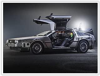 Delorean Time Machine Car Back to The Future Movie 18x24 Photo Poster