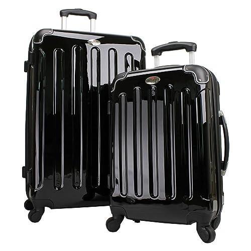 413588e3e Swiss Case 4 Wheel EZ2C 2Pc Suitcase Set Fluvo