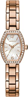 Women's Quartz Watch with Stainless-Steel Strap, Rose Gold, 10 (Model: 44L242)