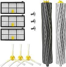 3 szczotki boczne i 2 szczotki główne i 3 filtry do IIRobot Roomba 800/900 seria 800 805 850 860 861 866 870 880 890 960 9...