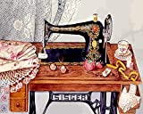 Rompecabezas 1500 Piezas Adultos De Madera Niño Puzzle-Máquina De Coser-Juego Casual De Arte DIY Juguetes Regalo Interesantes Amigo Familiar Adecuado