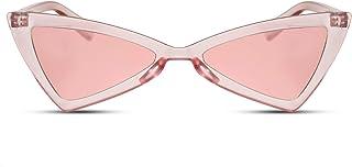 aa34556258 Cheapass Gafas de sol Ojo de Gato Fashion Gafas de Diseño Lentes Ahumadas  Protección UV400 Mujeres