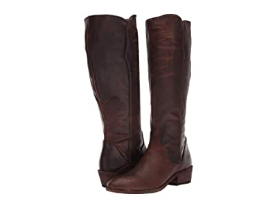 Frye Carson Piping Tall (Dark Brown Extended) Women