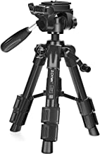 ZOMEI Q-100 Tabletop Tripod 12.5inch Lightweight Aluminum Small Travel Tripod with 360° Rotating Pan Head for Camera Cellphone Tablet and Projector