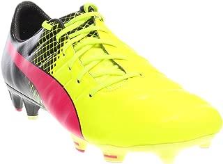 PUMA Mens Evopower 1.3 Tricks Fg Firm Ground Soccer Cleats (11.5) Pink/Black