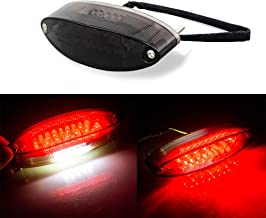 Evomosa Motorcycle Taillight Universal Brake Stop Light ATV Tail Light for Harley Honda BMW Suzuki