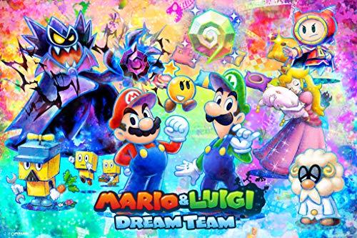 Pyramid America Mario Luigi Dream Team Cool Wall Decor Art Print Poster 18x12