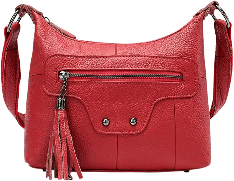 Genda 2Archer Women Small Shoulder Bag Leather Cross-Body Hobo Bag