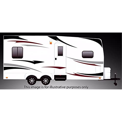 For Camper Motorhome Caravan 4 X Personalised Name Decals Stickers Graphics