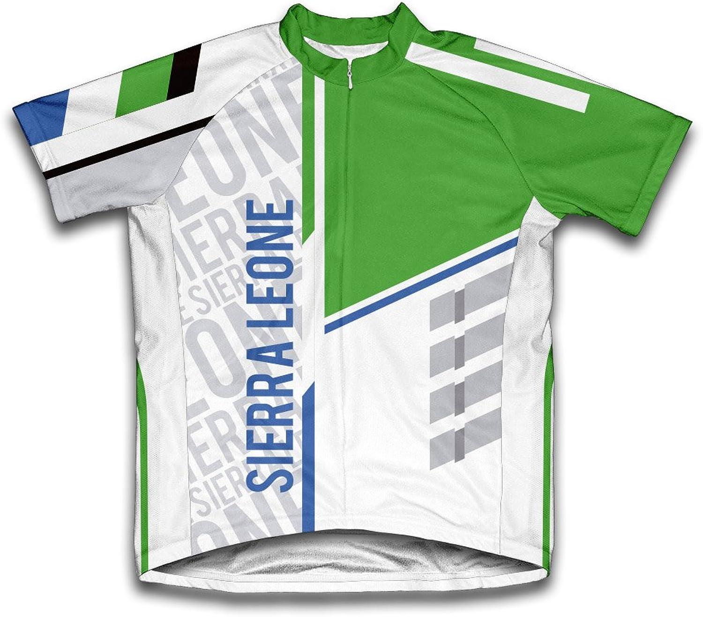 Sierra Leone ScudoPro Short Sleeve Cycling Jersey for Men