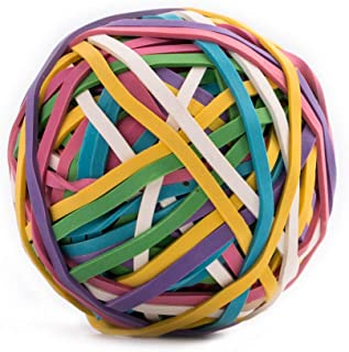 Eagle Rubber Band Ball,170 Bands per Ball,Assorted Colors