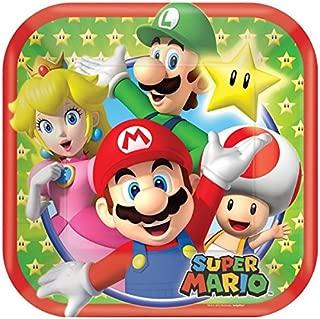 Guirlande papier Mario Bros Taille Unique