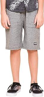 Boys' Big Jogger Shorts Casual Lounge Drawstring Knit Short