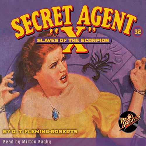 "Secret Agent ""X"" #32 copertina"