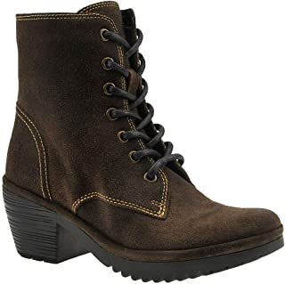 FLY London Woke Sludge Oiled Suede Combat Boot