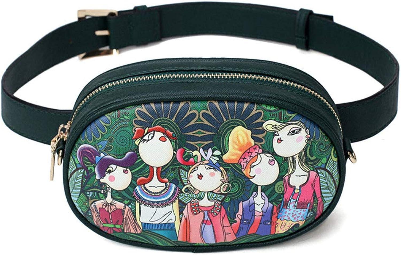 Women's Waist Pockets, Summer Fashion Shoulder Bag, Outdoor Multi-Function Crossbody Bag, Casual Chest Bag, Waist Bag