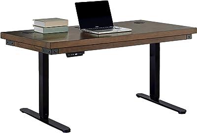 Martin Furniture SIT/STAND DESK TOP, Brown