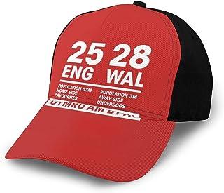イングランド25ウェールズ28-ラグビーワールドカップキャップ野球帽調整可能