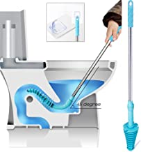 Samshow Toilet Plunger, Toilet Dredge Designed for Siphon-Type, Power Cleaned Toilet..