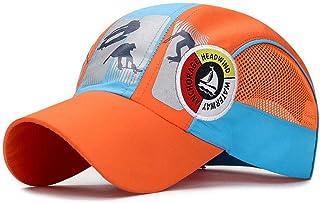 XibeiTrade Big Kids Breathable Baseball Cap Girl Boy Lightweight Summer Quick Drying Hats