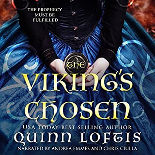 The Viking's Chosen                   By:                                                                                                                                 Quinn Loftis                               Narrated by:                                                                                                                                 Chris Ciulla,                                                                                        Andrea Emmes                      Length: 9 hrs and 30 mins     3 ratings     Overall 4.3