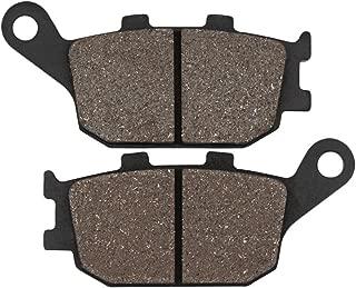 Cyleto Rear Brake Pads for Honda CBR600 CBR 600 F1/F2/F3/F4/F4i/F5/F6 1991 1992 1993 1994 1995 1996-2006