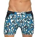 Taddlee Basic Men Swimwear Swimsuits Swim Boxer Trunks Surf Boardshorts XXL Size