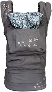 Ergonomic Baby Carrier Sling Baby Backpack Carrier Mochila Portabebe Backpack BBaby Suspenders Toddler Wrap,Galaxy Gray