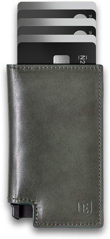 Ekster: Parliament - Slim Leather Wallet - RFID Blocking - Quick