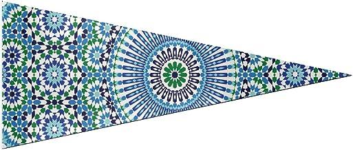 Bandera de bandera duradera Marruecos Banderas de islami tradicionales árabes sin costura Decoración de fiesta Clásico 12 x 30 pulgadas Suave y duradero para decoración de pancartas de bandera al air