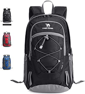 CAMEL Outdoor Hiking Backpack Durable Travel Daypack 8 Gal/30L 2nd Generation