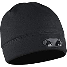 c46591a252d POWERCAP LED Beanie Cap 35 55 Ultra-Bright Hands Free LED Lighted Battery  Powered