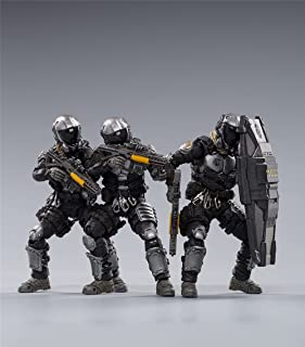 HiPlay JoyToy 1/18 Scale Science-Fiction Action Figures Full Set-Battle for The Stars Series-Star Hawk 7th Army Blackhawk ...