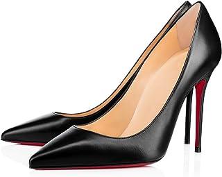 CAITLIN Women's Stilettos High Heels 10cm Pointed Toe...