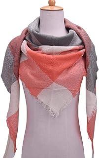 Winter Triangle Wraps Scarf For Women - Multi Color