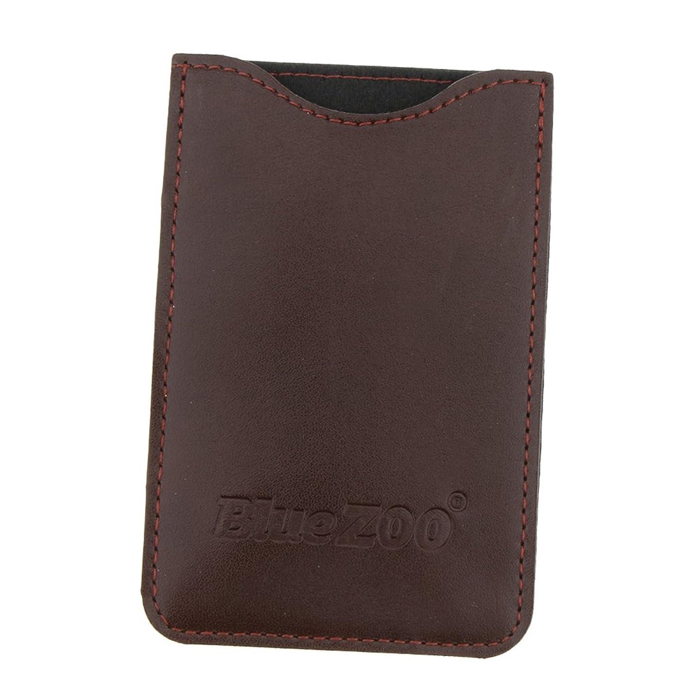 司書拒絶するワークショップBaosity 収納パック 収納ケース 保護カバー 櫛/名刺/IDカード/銀行カード 旅行 便利 全2色  - 褐色