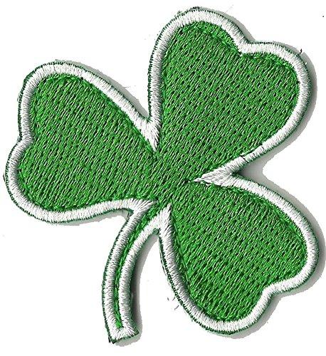 Die Cut Irish Clover Tactical Patch 2'x2' - Green