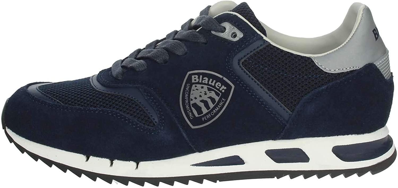 blueER shoes men low sneakers 9SMEMPHIS06   EMS MEMPHIS06 NAVY