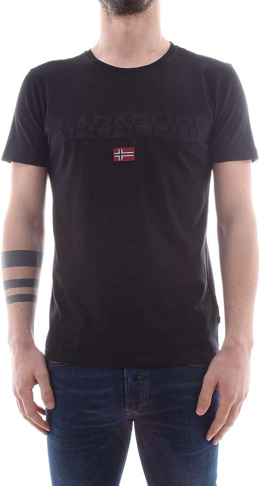 Napapijri t-shirt , maglietta per uomo , 100% Cotone N0YHCY SAPRIOL SS 1